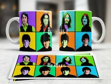 The Beatles Collection - Andy Warhol Inspired Tea Coffee Mug Cups Gift Present