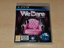 We Dare PS3 Playstation 3 (Move Required) **FREE UK POSTAGE**