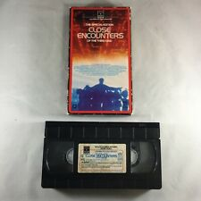 Close Encounters of the Third Kind (Vhs) Special Edition