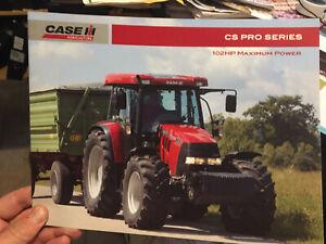 Case IH CS 105 Pro tractor brochure Steyr