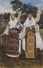 B76518 Romania  women purring femei cu fuiorul de tors types folklore costumes