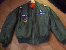 Rare 1961 Vietnam MA 1 Military skyline jacket Large