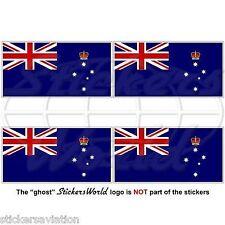 VICTORIA Etat Drapeau Australie AU - VICVinyle Autocollants, Stickers  50mm x4