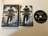 Call of Duty: World at War -- Final Fronts (PlayStation 2, 2008) - COMPLETE