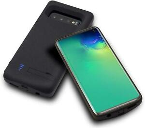 HQXHB Battery Case for Samsung Galaxy S10+ Plus, 6000mAh Rechargeable Extended