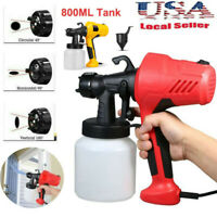 Electric Handheld 800ML Airless Paint Sprayer Tool Painting Spray Gun House