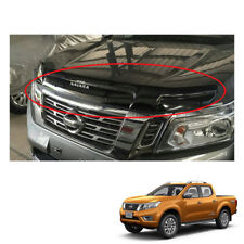 Bug Guard Shield Hood Big Size Black for Nissan NP300 Navara Frontier 2015 16 17