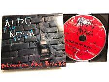 """ALDO NOVA - """"BLOOD ON THE BRICKS""""  Promo  CD"""
