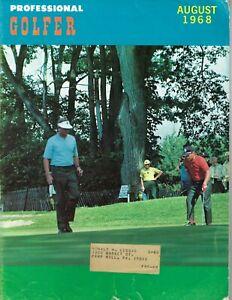 1968 AUGUST Professional Golfer magazine golf FAIR