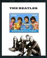 Chad 2016 MNH The Beatles John Lennon Paul McCartney 1v M/S Music Stamps