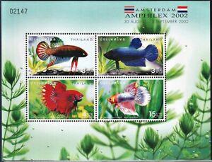 AMPHILEX 2002 Ovpt. on Thailand  2002 Fighting Fish SS