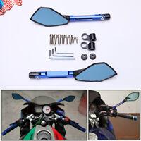 CNC Aluminum Motorcycle Rearview Mirrors For Honda Suzuki Yamaha Kawasaki Ducati