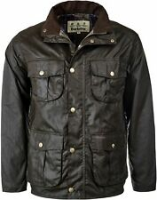Barbour New Utility Mens Wax Jacket Olive