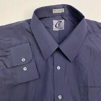 Claudio Nucci Button Up Shirt Mens XXL Blue Long Sleeve Casual