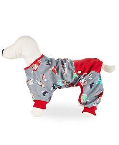 NWT Matching Family Pajamas Happy Pawlidays Pet Pajamas M