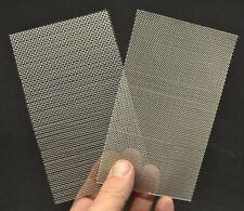 DioDump DD054 Aluminium mesh - 2 sheets: square + diagonal for model making