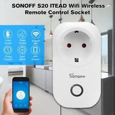 SONOFF Wifi Senza Fili Inteligente Presa Di Corrente Timer Adattatore App S3A2