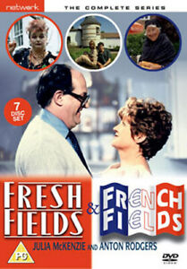 FRESH FIELDS / FRENCH FIELDS - THE COMPLETE SERIES DVD [UK] NEW DVD