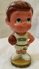VINTAGE 1960s NBA SEATTLE SUPERSONICS BASKETBALL BOBBLEHEAD NODDER BOBBLE HEAD