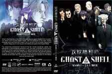 DVD GHOST IN THE SHELL (SEASON 1+2) + 3 MOVIES COLLECTION - ENGLISH VERSION