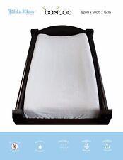KIDZ KISS Bamboo Waterproof Fitted Change Mat Cover [82cm x 50cm x 15cm]
