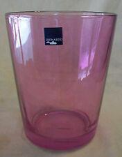 LEONARDO OF GERMANY, PINK ART GLASS VASE