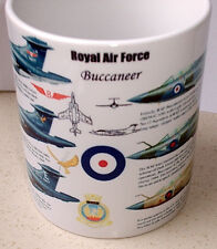 RAF BUCCANEER Royal Air Force variants 1968 to 1977 Ltd EdT MUG