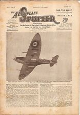 Aeroplane Spotter - Set of 13 - July-Sept 1941 (AS03)