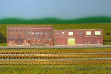 Z scale OLD BUILDINGS 2 background building flat
