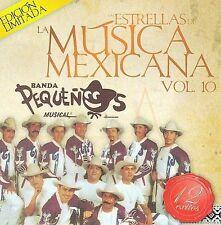 NEW - Estrellas De La Musica Mexicana by Banda Pequenos Musical