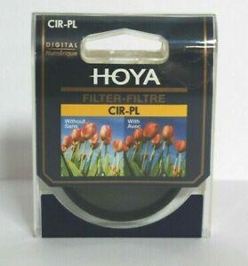 Genuine Hoya 62mm Circular Polarising C-PL CIR-PL Filter (UK Stock) BNIP