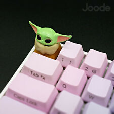 Star Wars Mandalorian The Child Baby Yoda Keycap Handmade Resin Custom Artisan