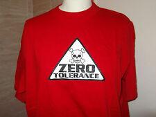 Zero Tolerance...Toxic Clothes ... T Shirt...Short Sleeve.. Medium