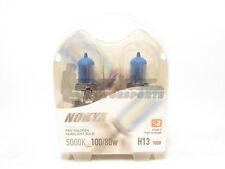 Nokya H13/9008 Cosmic White Headlight Pro Halogen Light Bulbs Twin Pack 5000K