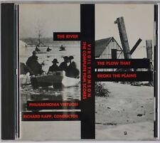 VIRGIL THOMPSON: The River, The Plow that Broke the Plains KAPP ESS.A.Y CD