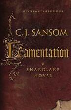 Matthew Shardlake Lamentation by C. J. Sansom (2015, Hardcover)
