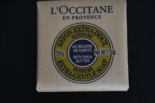 Sealed L'Occitane Verbena Extra-Gentle Soap with Shea Butter travel size 50g