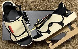 Nike AIr Jordan LS Slide Sandal | Sz 13 | CZ0791-200 Beach Khaki Univ Red