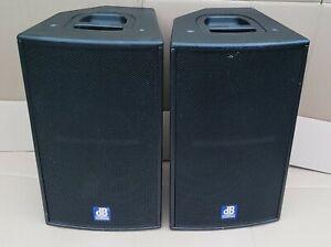 dB Technologies Flexsys F12 Digital Active PA Speakers