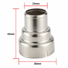 Stainless Steel 3 Layer Reducing Welding Nozzle For Heat Gun Nozzles-overload