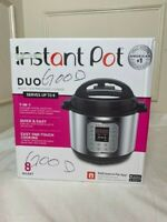 Instant Pot Duo 8 Quart Multi-Use Pressure Cooker - New IN BOX TESTED WORKING