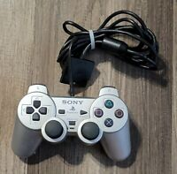 Sony Playstation 2 PS2 Analog Wired Controller silver SCPH-10010 DUALSHOCK 2