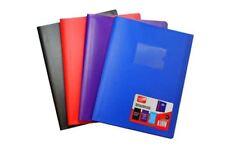 Supreme Stationery-A4 40 Pocket morbida Cartella Libro Di Visualizzazione Nero