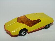 Matchbox Superfast No 33 Datsun 126X Yellow Ribbed Base Mint UB
