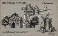 DDR SMHD46 (kompl.Ausg.) postfrisch 1990 Neubrandenburg