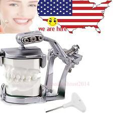 US Adjustable Magnetic Articulator Dental Lab C-clamps hold full teeth model