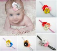 10pcs Kids Girl Baby Toddler Infant Flower Headband Hair Band Headwear
