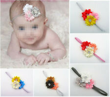 10pcs Kids Girl Baby Toddler Infant Flower Headband Hair Band Headwear