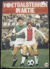 100% COMPLETE NETHERLANDS VANDERHOUT VOETBAL STERREN 1970-71 STICKER ALBUM