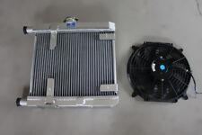 Alloy Radiator for Lancia Fulvia 1.3 1.3S V4 +12'' 12V fan & mounting kits